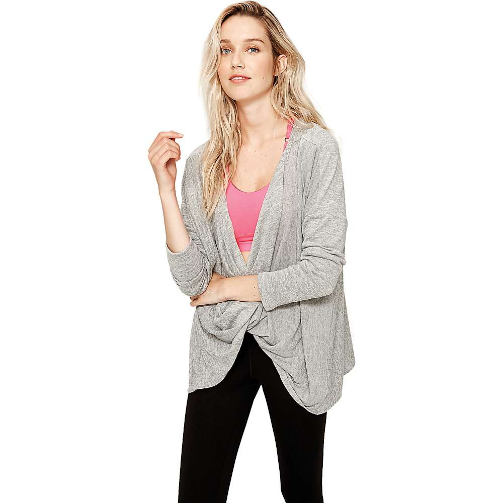 Lole Women's Mel Top - Large - Dark Grey Heather