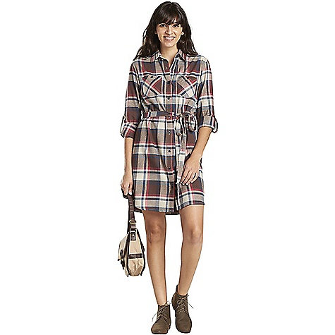 United By Blue Murray Plaid Dress