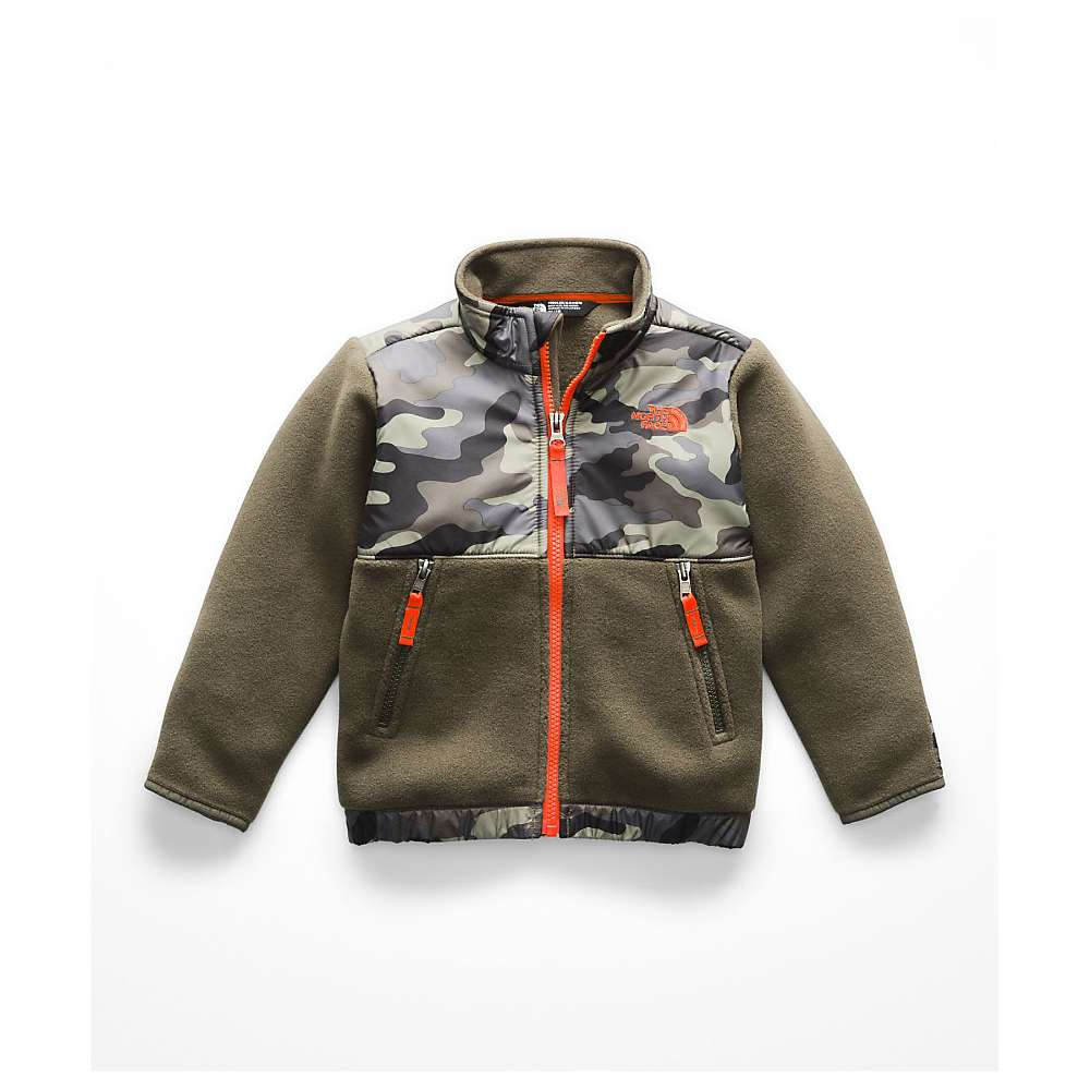 The North Face Toddler Denali Jacket - 2T - New Taupe Green Camouflage Print