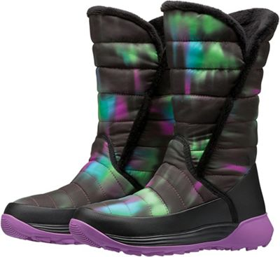 The North Face Youth Amore II Boot - TNF Black / Iris Orchid Purple