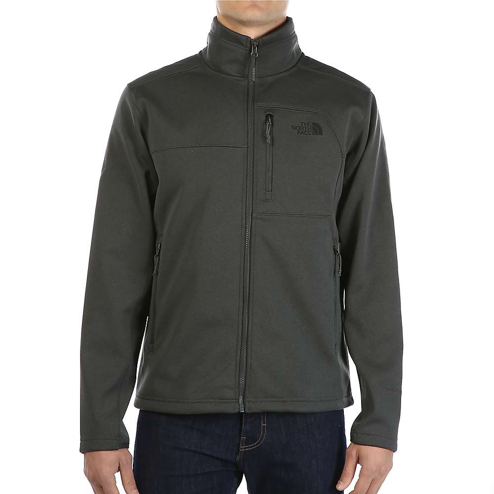 The North Face Men's Apex Risor Jacket - XL - TNF Dark Grey Heather / TNF Dark Grey Heather
