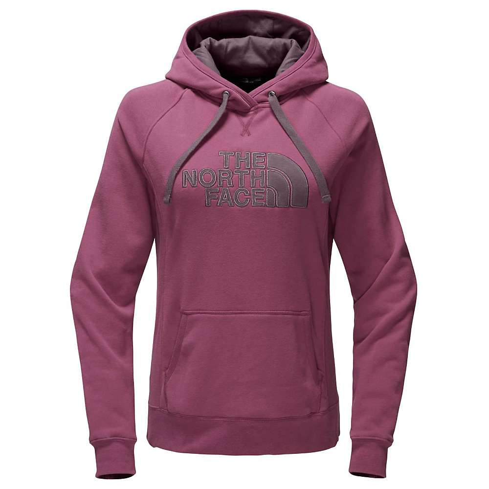 The North Face Women's Avalon Half Dome Pullover Hoodie - Small - Amaranth Purple / Black Plum