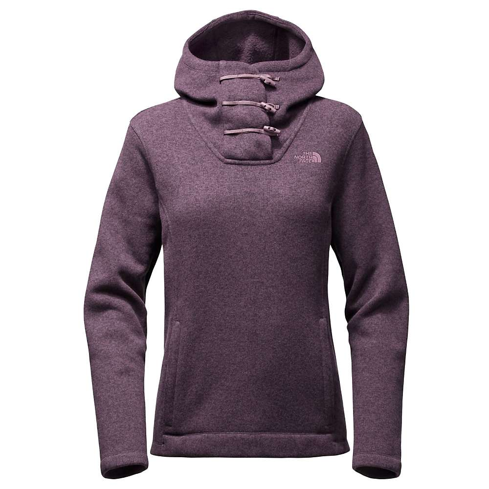 The North Face Women's Crescent Hooded Pullover - XL - Dark Eggplant Purple Heather