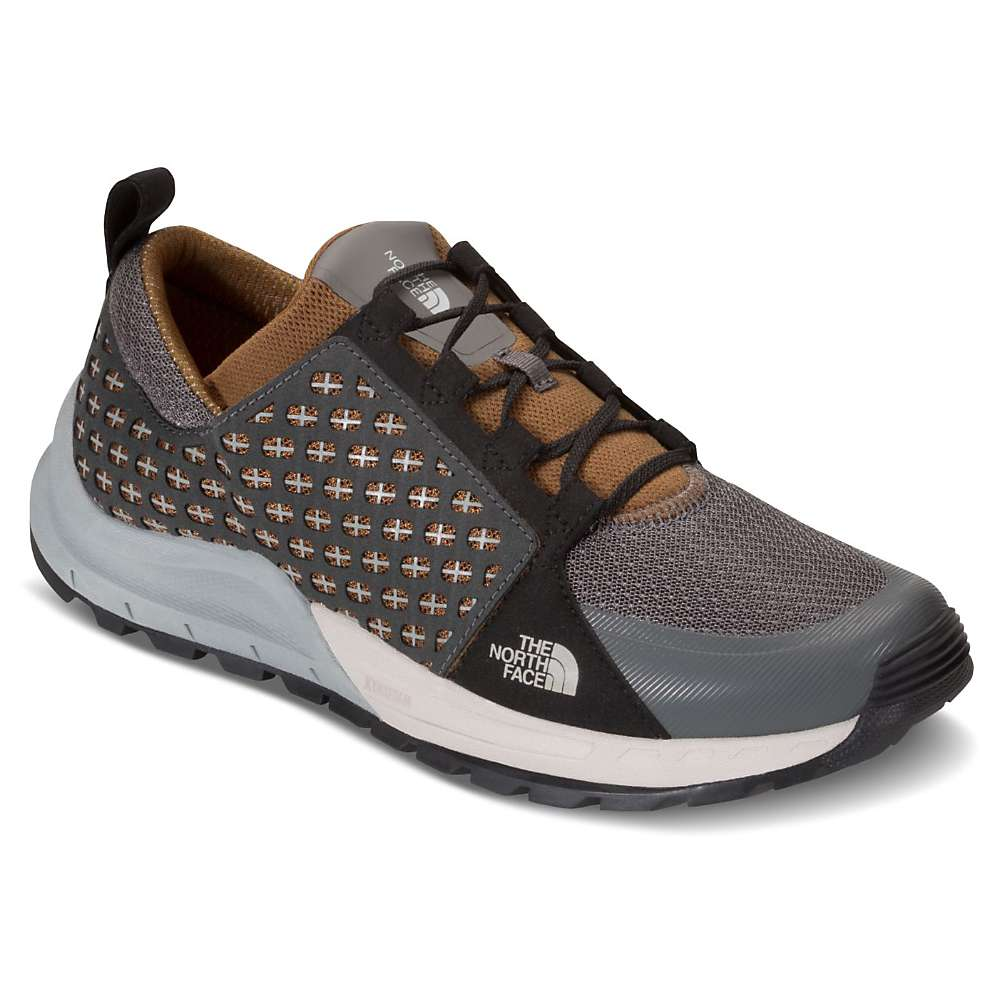 The North Face Men's Mountain Sneaker - 9 - Graphite Grey / Tagumi Brown