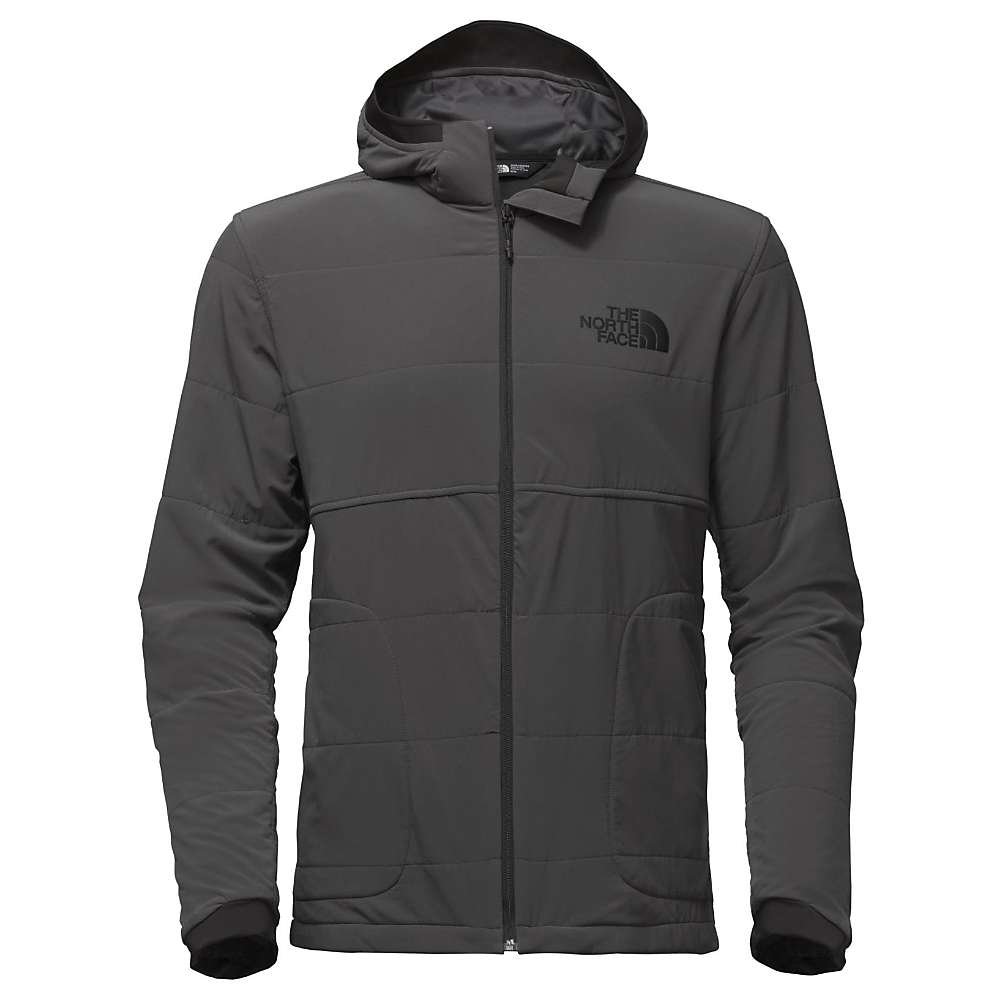 The North Face Men's Mountain Sweatshirt Full Zip Hoodie - XL - TNF Black / Asphalt Grey