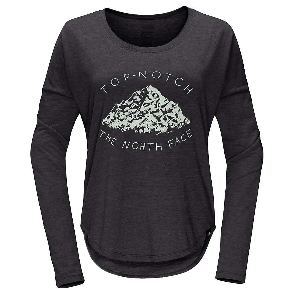 The North Face Women's Mountain View Tri-Blend LS Tee - Medium - TNF Dark Grey Heather
