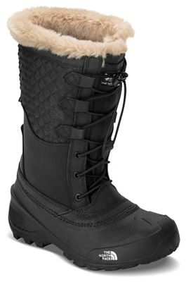The North Face Youth Shellista Lace III Boot - TNF Black / TNF Black