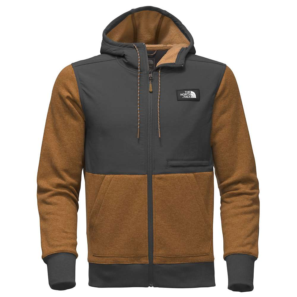 The North Face Men's Tech Sherpa Hoodie - XL - Bronx Brown Heather