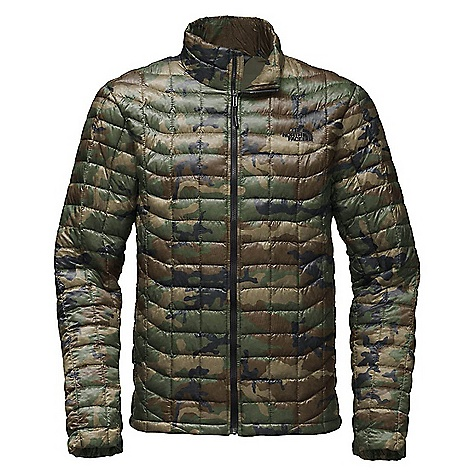 The North Face Men's ThermoBall Jacket Terrarium Green Woodland Camo Print