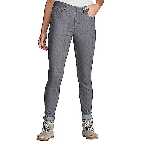 Toad & Co Women's Lola Skinny Jean Smoke Hot-2-Dot Print Toad & Co Women's Lola Skinny Jean - Smoke Hot-2-Dot Print - in stock now. FEATURES of the Toad & Co Women's Lola Skinny Jean Quick pocket styling Coin pocket at right hip Quick dyed for extra stretch and lightly peached for extra softness