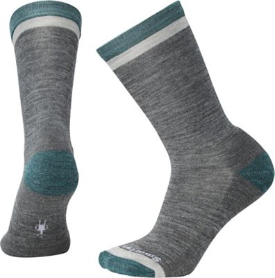 Smartwool Jitterbug Crew Sock - Small - Medium Grey Heather