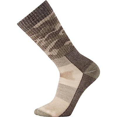 Smartwool Hunt Medium Camo Crew Sock - Fossil
