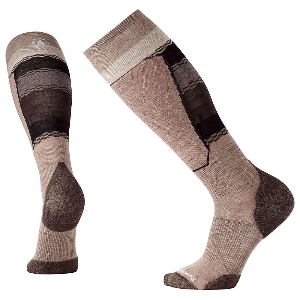 Smartwool PhD Ski Light Elite Pattern Sock - Medium - Fossil