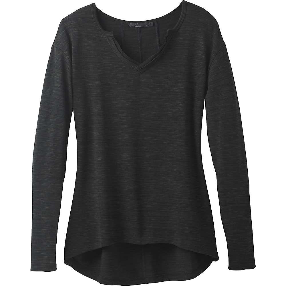 Prana Women's Blythe Pullover Top - Medium - Charcoal
