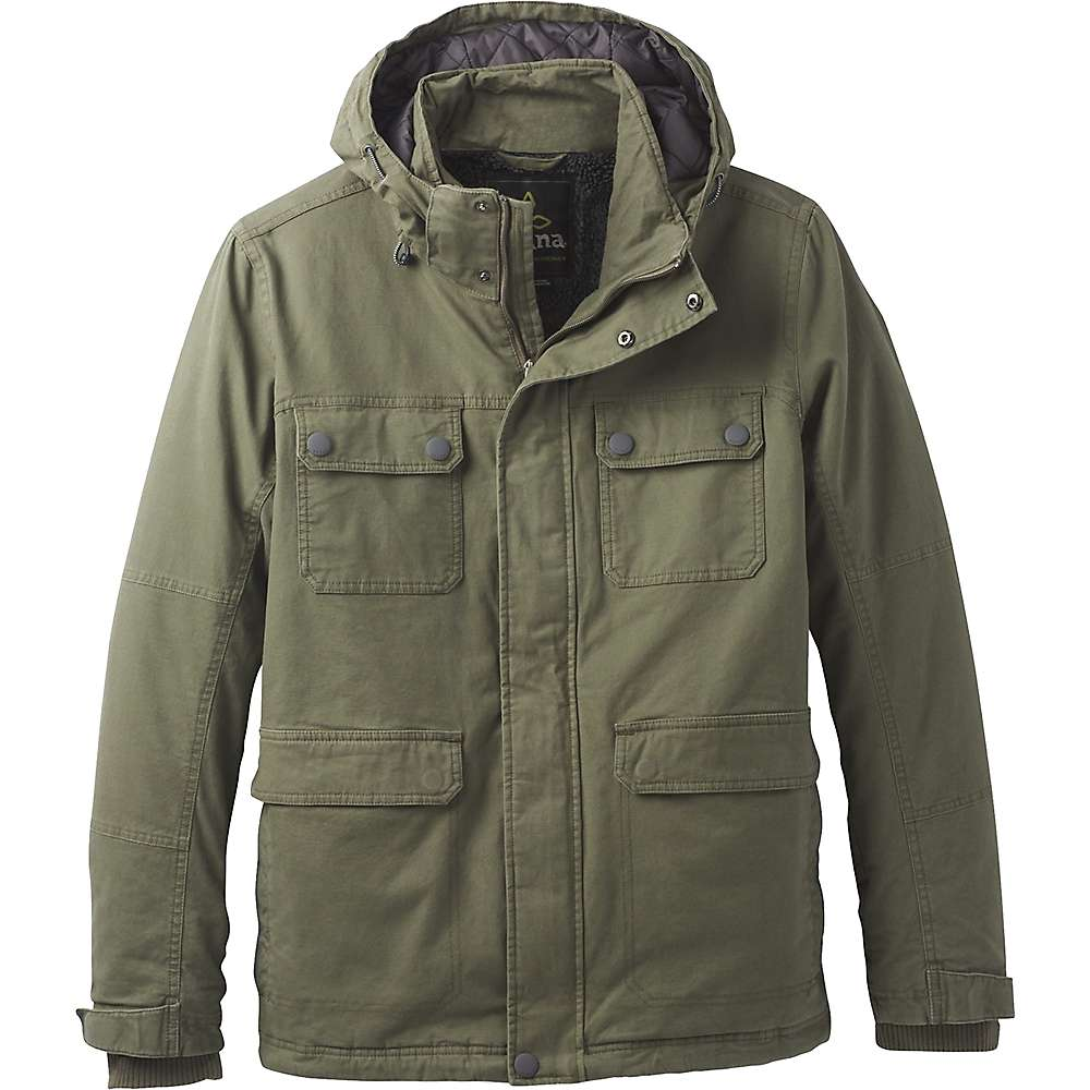 Prana Men's Bronson Towne Jacket - XL - Cargo Green