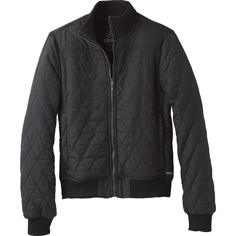 Prana Women's Diva Bomber Jacket - XL - Black