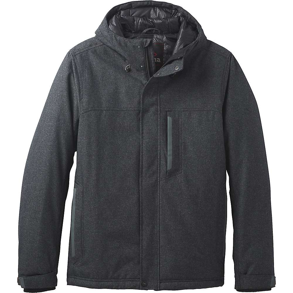 Prana Men's Edgemont Jacket - Small - Black Heather