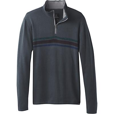 Prana Holberg 1/4 Zip Sweater - Coal - Men