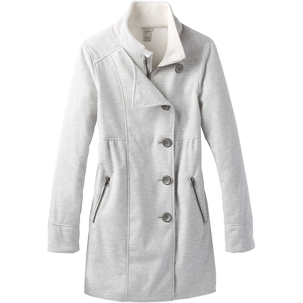 Prana Women's Martina Long Heathered Jacket - XL - Winter