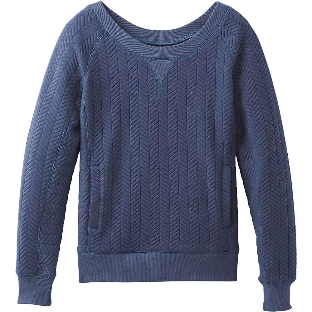 Prana Women's Silverspring Pullover Top - XL - Dusk Blue