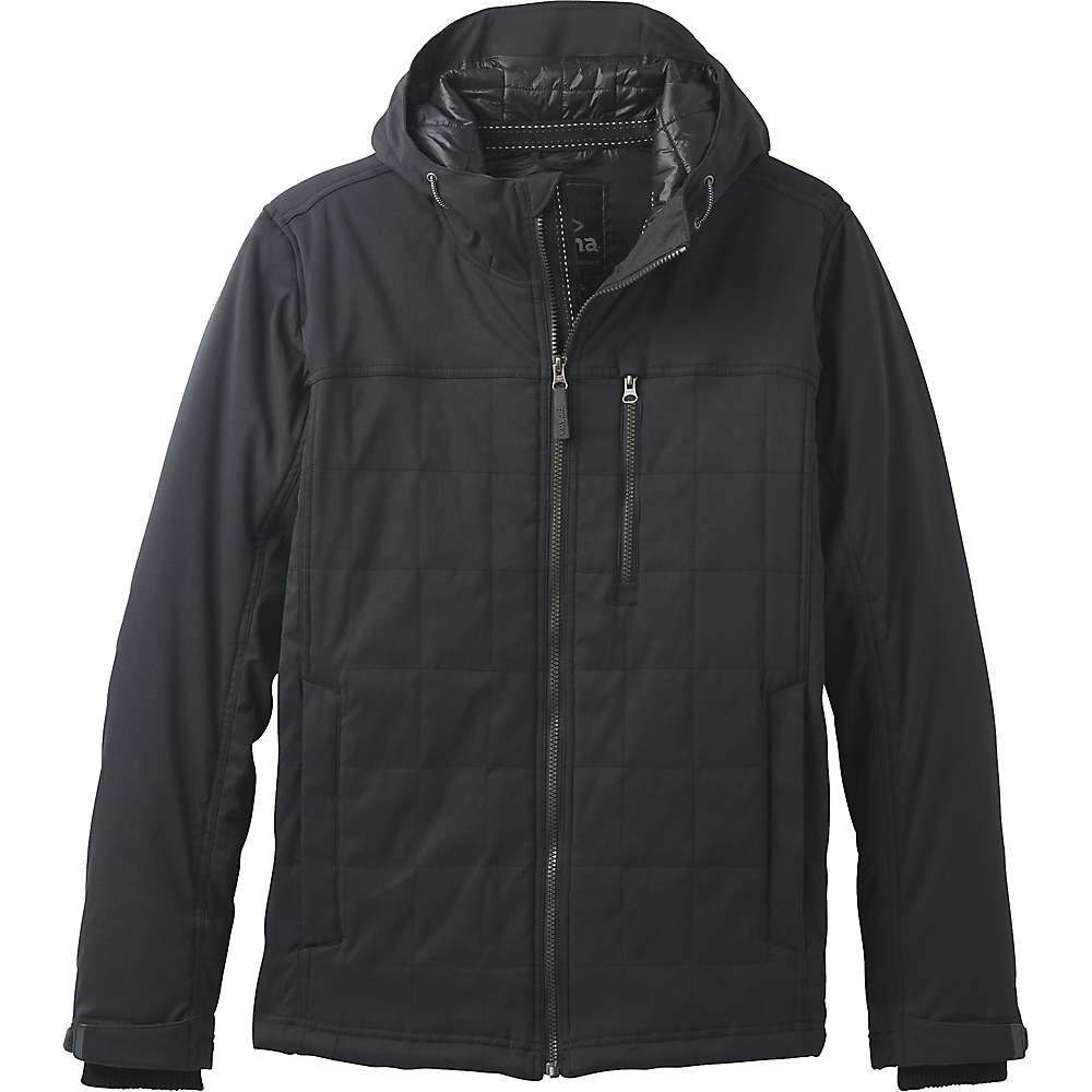 Prana Men's Zion Quilted Jacket - Small - Black