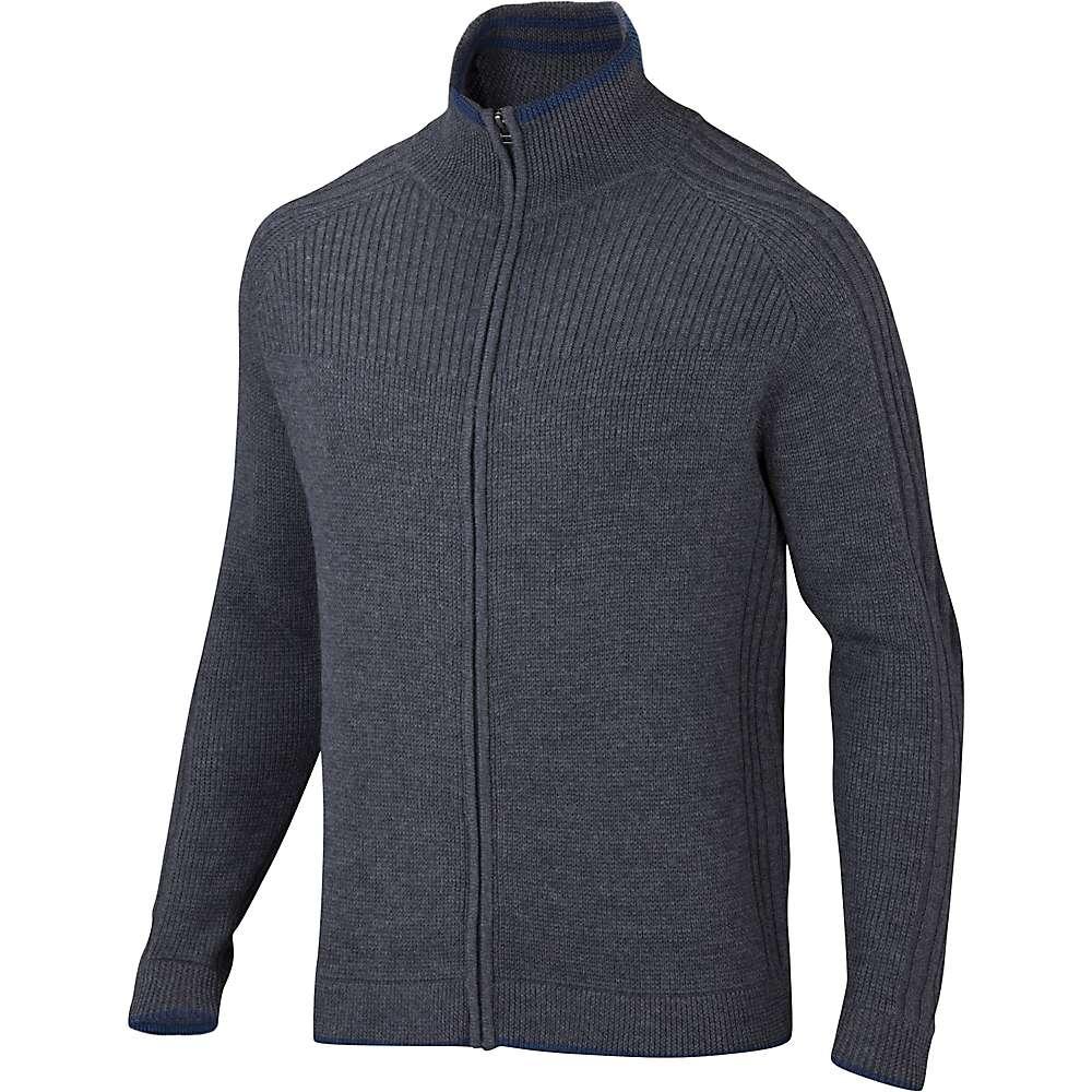 Ibex Men's Journeyman Sweater - Medium - Pewter Heather