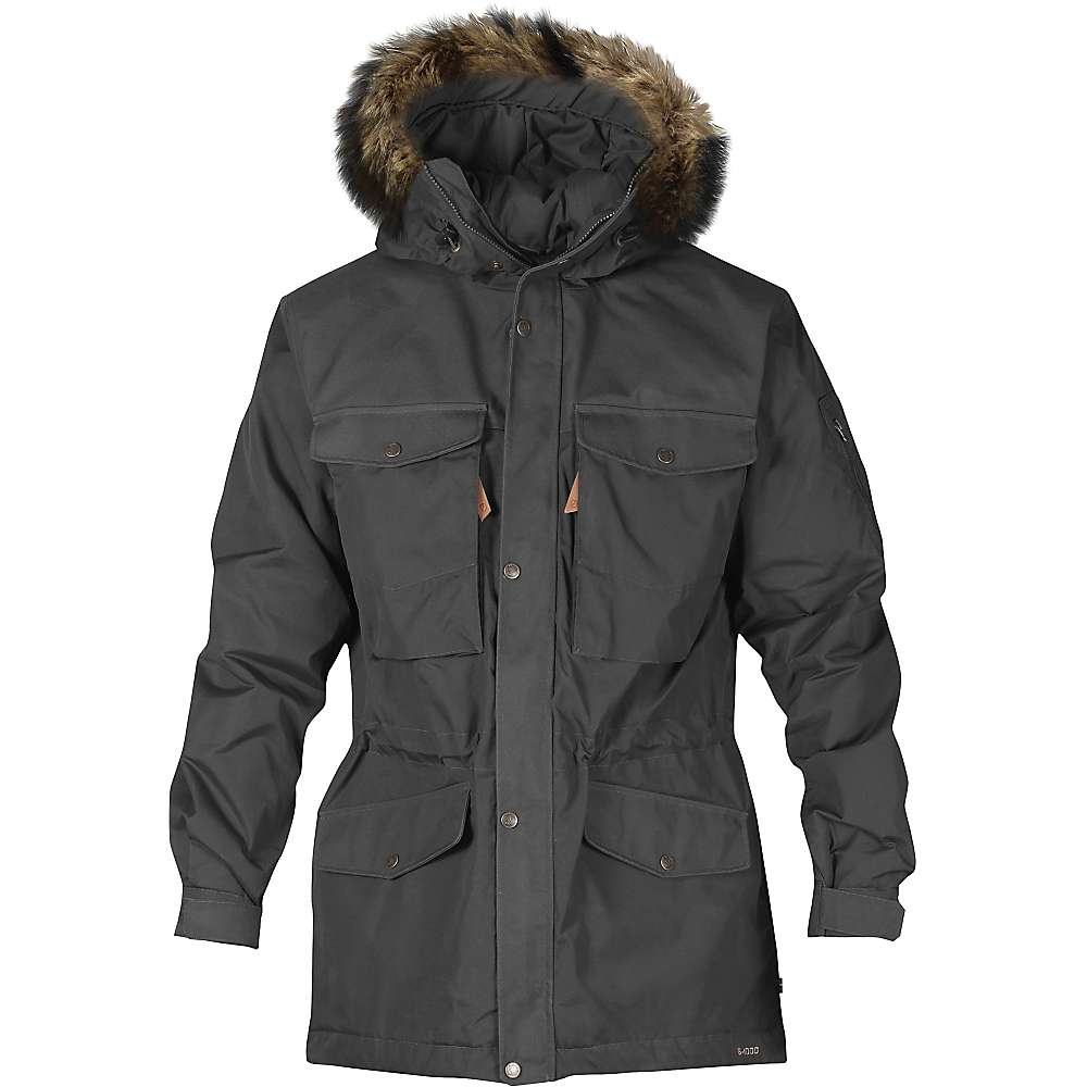 Fjallraven Men's Singi Winter Jacket - Small - Dark Grey