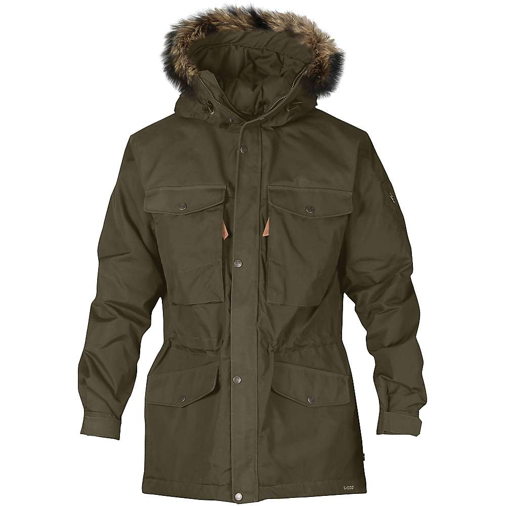 Fjallraven Men's Singi Winter Jacket - Small - Dark Olive