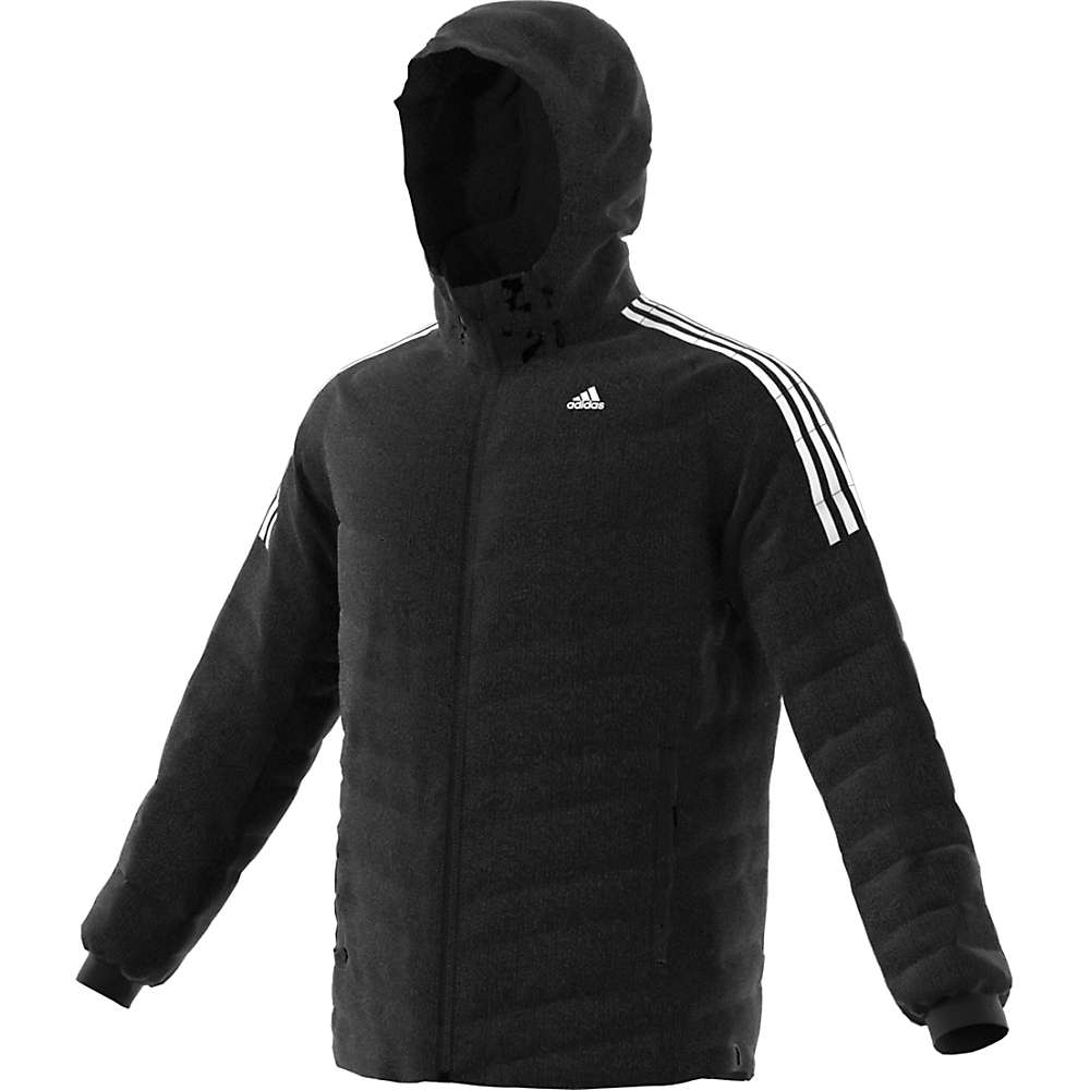 Adidas Men's CW Itavic 3 Stripe Jacket - Medium - Black / White / White