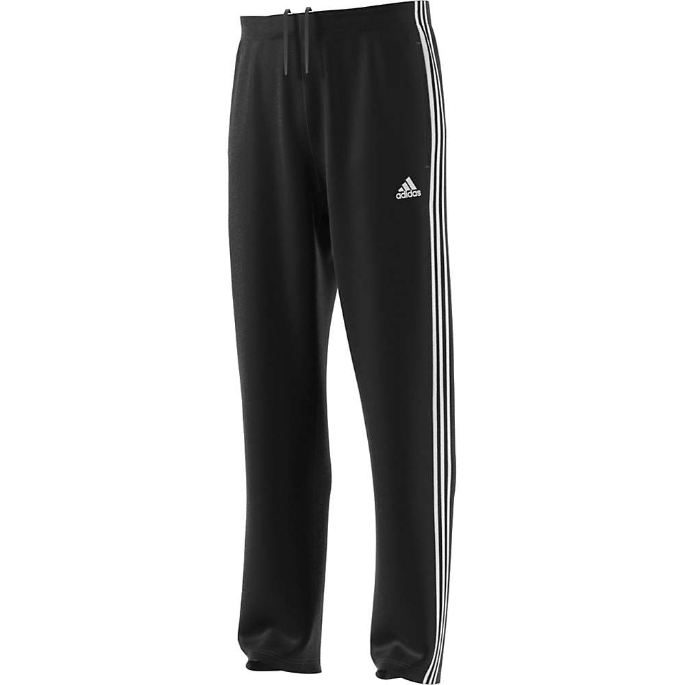 Adidas Men's Essential 3S Relaxed Tricot Pant - Medium - Black / White
