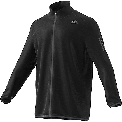 Adidas Men's Response Wind Jacket Black / Black Adidas Men's Response Wind Jacket - Black / Black - in stock now. FEATURES of the Adidas Men's Response Wind Jacket Climalite keeps your body dry by drawing sweat away from the skin comfortable Sweat guard pocket