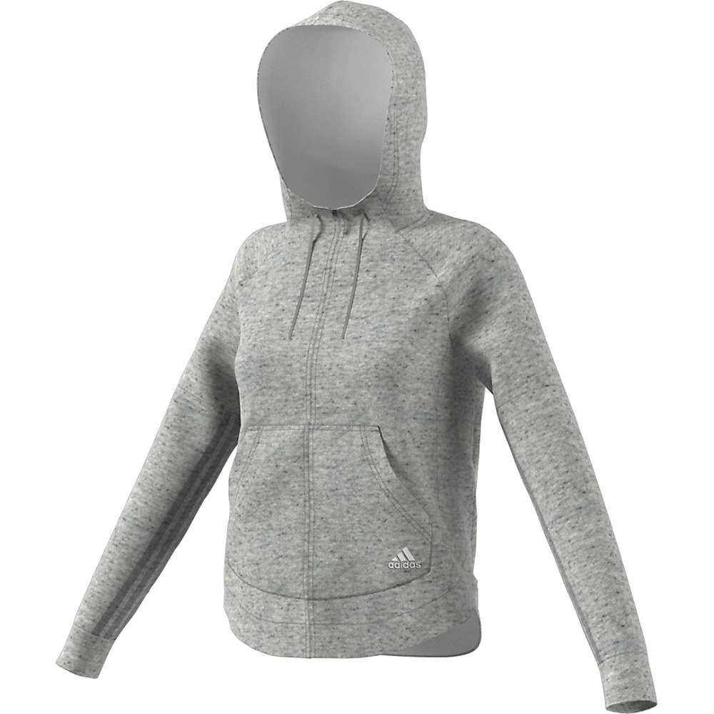 Adidas Women's S2S FZ Hoody - Medium - Medium Grey Heather