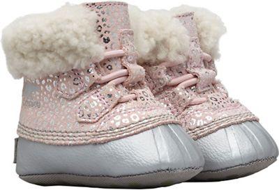 Sorel Infant Caribootie Boot - Dusty Pink / Chrome Grey