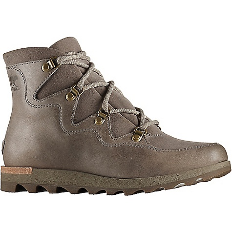 Sorel Women's Sneakchic Alpine Boot Kettle Sorel Women's Sneakchic Alpine Boot - Kettle - in stock now. FEATURES of the Sorel Women's Sneakchic Alpine Boot Upper: Waterproof full-grain and suede leather Canvas and synthetic lining Footbed: Die cut memory EVA footbed, microfleece topcover Midsole: Die cut and buff EVA Outsole: Molded rubber outsole
