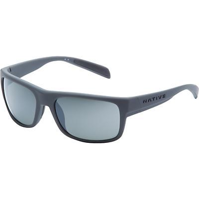 Native Ashdown Polarized Sunglasses - Granite / Silver Reflex Polarized