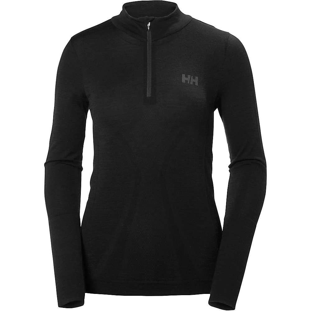 Helly Hansen Women's HH Lifa Active Crew Neck Top - Large - Black