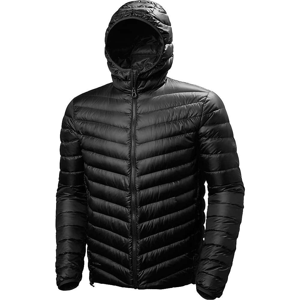 Helly Hansen Men's Verglas Hooded Down Insulator Jacket - Medium - Black