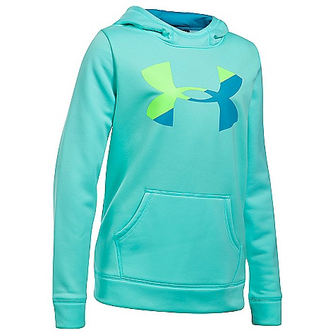 Under Armour Girls' UA Armour Fleece Big Logo Hoody 3791331