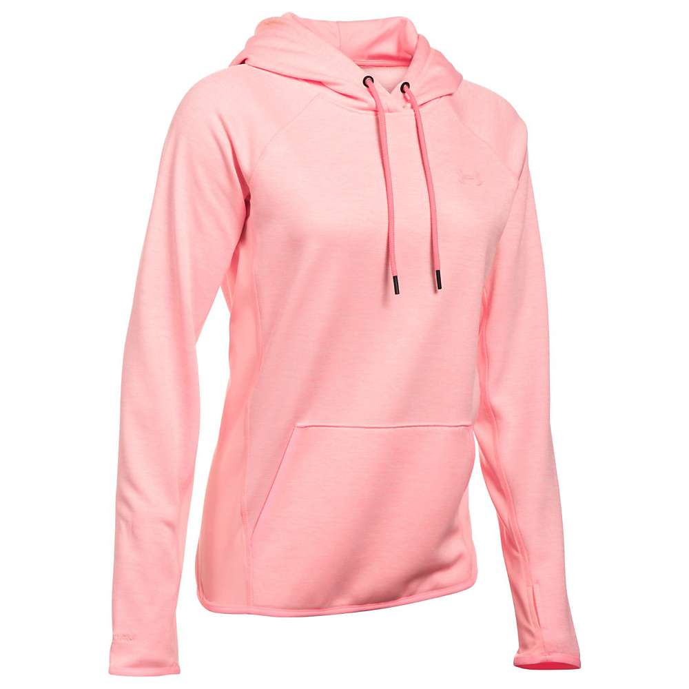 Under Armour Women's UA Armour Fleece Twist Hoodie - XS - Cape Coral / Cape Coral / Cape Coral