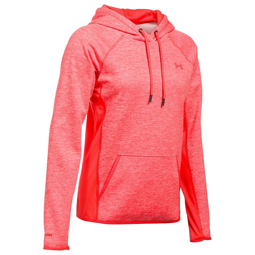 Under Armour Women's UA Armour Fleece Twist Hoodie - Medium - Marathon Red / Marathon Red / Marathon Red