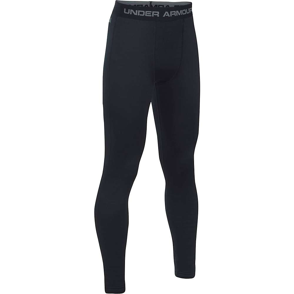 Under Armour Boys' UA Base 4.0 Legging - XL - Black / Graphite