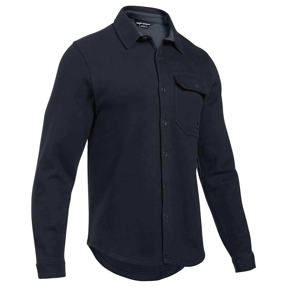 Under Armour Men's UA Buckshot Fleece Shirt - XXL - Black / Stealth Grey