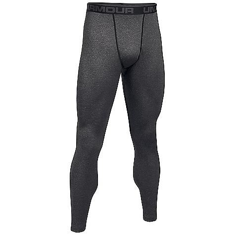Under Armour Men's UA ColdGear Wool Base Legging Black / Stealth Grey thumbnail
