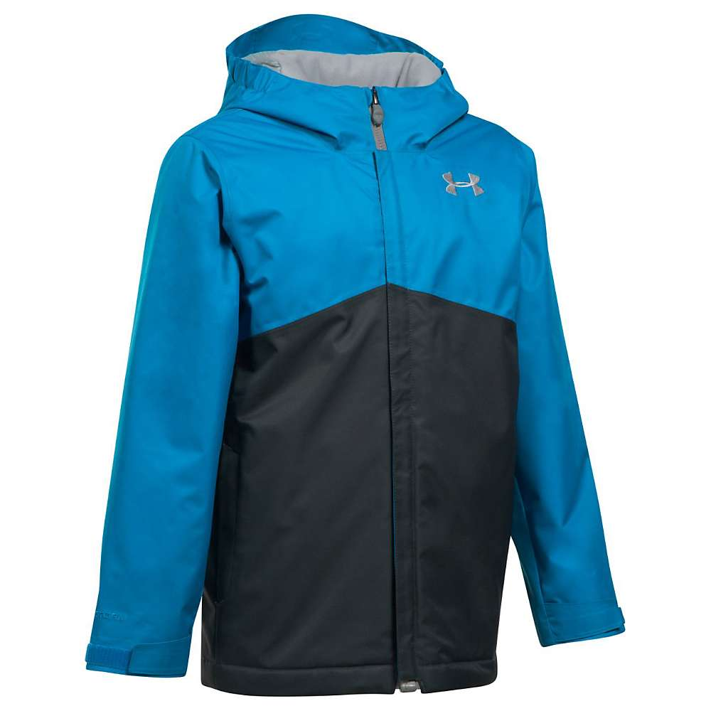 Under Armour Girls' UA Coldgear Infrared Freshies Jacket - XS - Cruise Blue / Anthracite / Steel