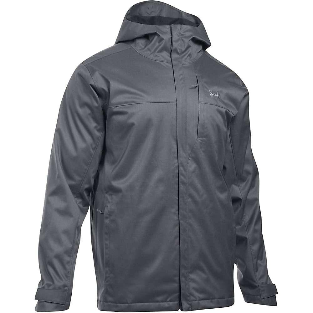 Under Armour Men's UA ColdGear Infrared Porter 3-In-1 Jacket - Medium - Rhino Grey / Black / Steel