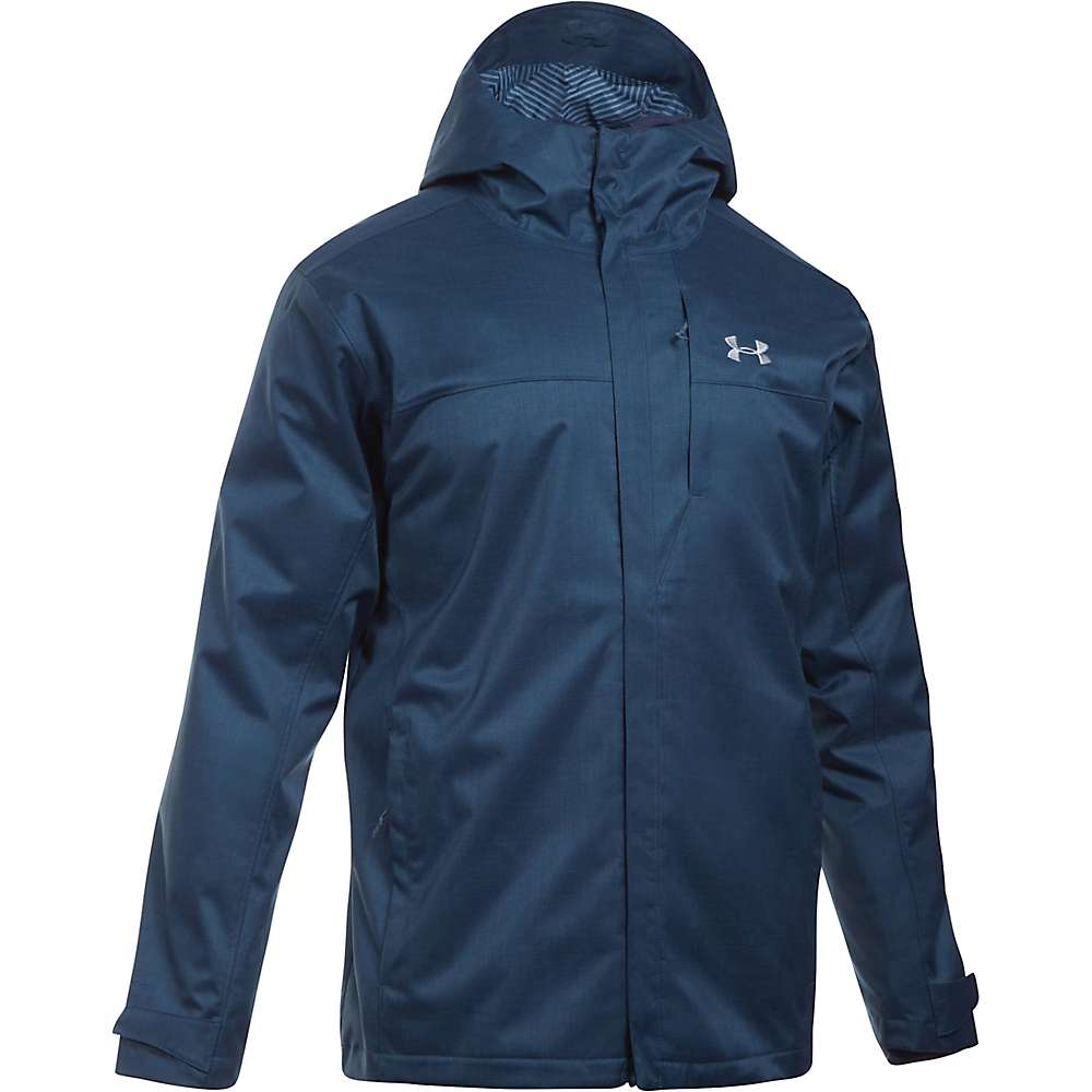 Under Armour Men's UA ColdGear Infrared Porter 3-In-1 Jacket - Medium - True Ink / Midnight Navy / Steel