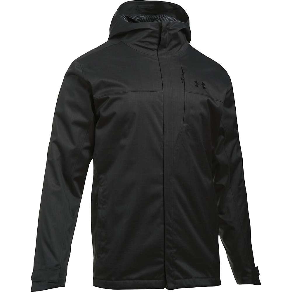Under Armour Men's UA ColdGear Infrared Porter 3-In-1 Jacket - Small - Truffle Grey / Rhino Grey / Black