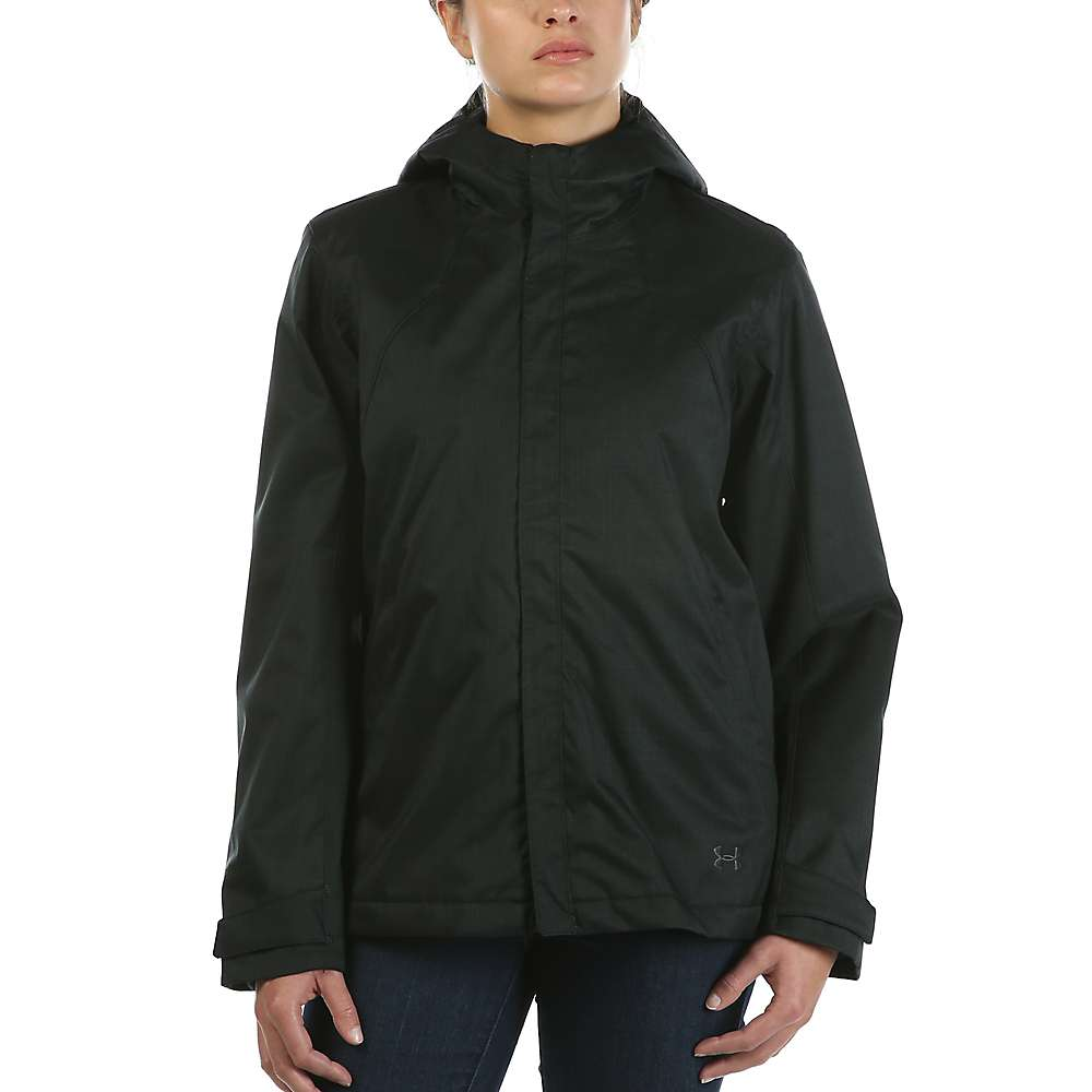 Under Armour Women's UA ColdGear Infrared Sienna 3-In-1 Jacket - XS - Black / Black / Stealth Grey