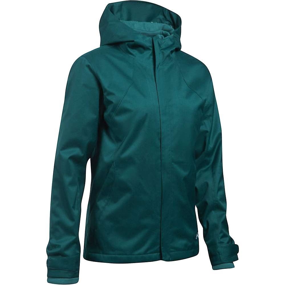 Under Armour Women's UA ColdGear Infrared Sienna 3-In-1 Jacket - Small - Arden Green / Midnight Green / Black