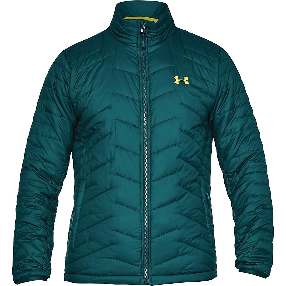 Under Armour Men's UA ColdGear Reactor Jacket - Large - Arden Green / Smash Yellow / Smash Yellow